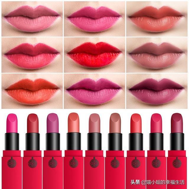 送女朋友礼物口红眉笔套装,哪些口红送人比较上档次?